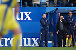 Luton Town 1 Leeds United 1, 26/01/2008. Kenilworth Road, League One. Leeds United manager Dennis Wise. Photo by Simon Gill.