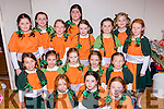 Young cast members at the Marian Players Babes in the Woods Panto in Rathmore Community Hall on Saturday night front row l-r: Andee Lenihan, Siobhain Twomey, Elaine McSweeney. middle row: Ann O'Mahony, Michaela Moynihan, Emma Fleming, Norma Touhy, Kathleen Cotter. Back row: Laura phelan, Ellen O'Connor, Maireadd Fitzpatrick, Niamh collins, Aine Leader, Cliona Cotter and Molly herlihy