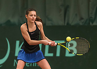 Netherlands, The Hague,  March 10, 2017, Tennis,  National Indoor Junior Championships, NOJK, 12-16 years, Floor van de Kar (NED)<br /> Photo: Tennisimages/Henk Koster