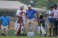 Graeme McDowell (NIR) looks over his tee shot on 11 during day 3 of the Valero Texas Open, at the TPC San Antonio Oaks Course, San Antonio, Texas, USA. 4/6/2019.<br /> Picture: Golffile | Ken Murray<br /> <br /> <br /> All photo usage must carry mandatory copyright credit (© Golffile | Ken Murray)