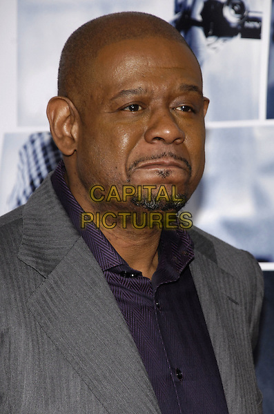 "FOREST WHITAKER .Columbia Pictures presents the world premiere of ""Vantage Point"" at AMC Lincoln Center, New York, New York, USA. .headshot portrait goatee facial hair sad .CAP/ADM/BL.©Bill Lyons/AdMedia/Capital Pictures."