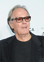 NEW YORK, NY - APRIL 19:Peter Fonda attends  'Clive Davis: The Soundtrack of Our Lives' 2017 Opening Gala of the Tribeca Film Festival at Radio City Music Hall on April 19, 2017 in New York City. <br /> CAP/MPI/JP<br /> &copy;JP/MPI/Capital Pictures