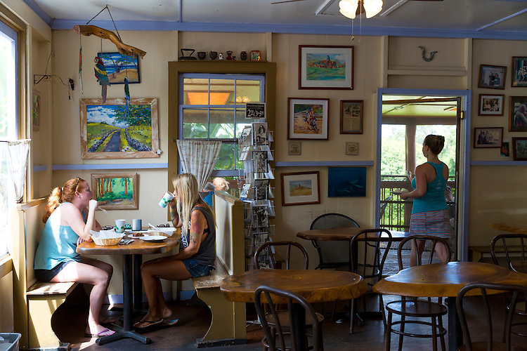 Grandma's Coffee House in Keokea, Upcountry, Maui, Hawaii
