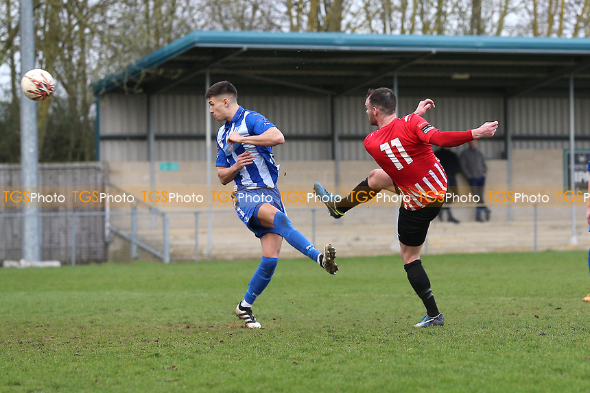 Martin Tuohy of Hornchurch goes close during Ware vs AFC Hornchurch, Ryman League Division 1 North Football at Wodson Park on 11th March 2017