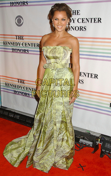 VANESSA WILLIAMS.30th Kennedy Center Honors Recipients honored for lifetime achievement in the performing arts held at the Kennedy Center for the Performing Arts, Washington, D.C. .USA, 02 December 2007..full length strapless green dress .CAP/ADM/LF.©Laura Farr/AdMedia/Capital Pictures.