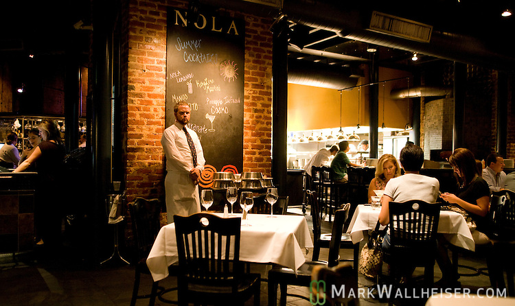 Chef Emeril Lagasse's NOLA Restaurant on Tchoupitoulas St in New Orleans, LA. August 20, 2009.  (Mark Wallheiser/TallahasseeStock.com)