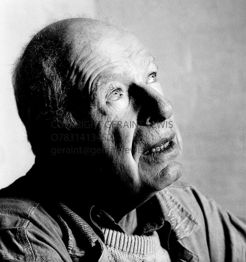 Peter Brook,Theatre Director.CREDIT Geraint Lewis