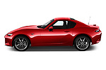 Car Driver side profile view of a 2019 Mazda MX-5 Skycruise 2 Door Targa Side View