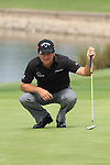 Graeme McDowell on the 13th green on day three of the Celtic Manor wales Open 2010.Picture Fran Caffrey/Newsfile.ie