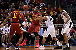 MILWAUKEE, WI - MARCH 18: Iowa State Cyclones guard Deonte Burton (30) looks for an open teammate during the first half of  the 2017 NCAA Men's Basketball Tournament held at BMO Harris Bradley Center on March 18, 2017 in Milwaukee, Wisconsin. (Photo by Jamie Schwaberow/NCAA Photos via Getty Images)