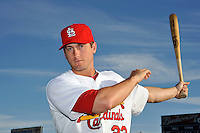 Mar 01, 2010; Jupiter, FL, USA; St. Louis Cardinals  infielder David Freese (23) during  photoday at Roger Dean Stadium. Mandatory Credit: Tomasso De Rosa/ Four Seam Images
