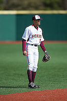 Virginia Tech Hokies shortstop Ricky Surum (2) on defense against the Toledo Rockets at The Ripken Experience on February 28, 2015 in Myrtle Beach, South Carolina.  The Hokies defeated the Rockets 1-0 in 10 innings.  (Brian Westerholt/Four Seam Images)