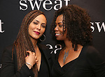 "Nicole Ari Parker and Vanessa A. Williams attends the after party for the Broadway Opening Night of ""Sweat"" at Brasserie 8 1/2 on March 26, 2017 in New York City."