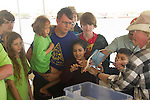 Hands-on marine biology in Galveston