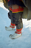 SWEDEN, Swedish Lapland Traditional Sami Costume