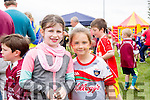 Bejewelled Faces, Larissa O'Connor & Caitlin cKenna at the Cromane Family Fun Day
