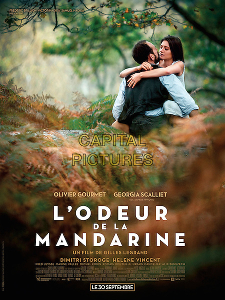 L'odeur de la mandarine (2015) <br /> POSTER ART<br /> *Filmstill - Editorial Use Only*<br /> CAP/KFS<br /> Image supplied by Capital Pictures