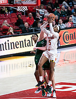 COLLEGE PARK, MD - DECEMBER 8: Kaila Charles #5 of Maryland goes up for  shot during a game between Loyola University and University of Maryland at Xfinity Center on December 8, 2019 in College Park, Maryland.