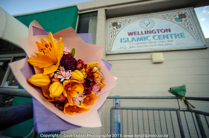Wellington Islamic Centre in Wellington, New Zealand on Tuesday, 19 March 2019. Photo: Dave Lintott / lintottphoto.co.nz