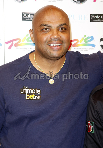 "2 July 2008 - Las Vegas, Nevada - Charles Barkley. Annie Duke and Don Cheadle host the 2nd Annual ""Ante Up For Africa"" Celebrity Poker Tournament during the 2008 World Series of Poker held at the Rio All-Suite Hotel and Casino. Photo Credit: MJT/AdMedia"