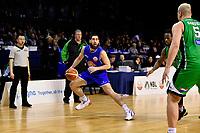 Saints' Jordan Ngatai in action during the NBL - Cigna Saints v Manawatu Jets at TSB Bank Arena, Wellington, New Zealand on Sunday 30 June 2019. <br /> Photo by Masanori Udagawa. <br /> www.photowellington.photoshelter.com