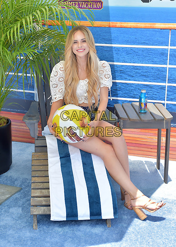 "***FILE PHOTO** Amanda Stanton Arrested On Domestic Violence Charges<br /> WESTWOOD, CA - JUNE 30: Amanda Stanton, arriving to Columbia Pictures And Sony Pictures Animation's World Premiere Of ""Hotel Transylvania 3: Summer Vacation"" at Regency Village Theatre in Westwood, California on June 30, 2018. <br /> CAP/MPIFS<br /> ©MPIFS/Capital Pictures"