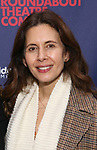 """Jessica Hecht attends the Broadway Opening Night Celebration for the Roundabout Theatre Company production of """"Apologia"""" on October 16, 2018 at the Laura Pels Theatre in New York City."""