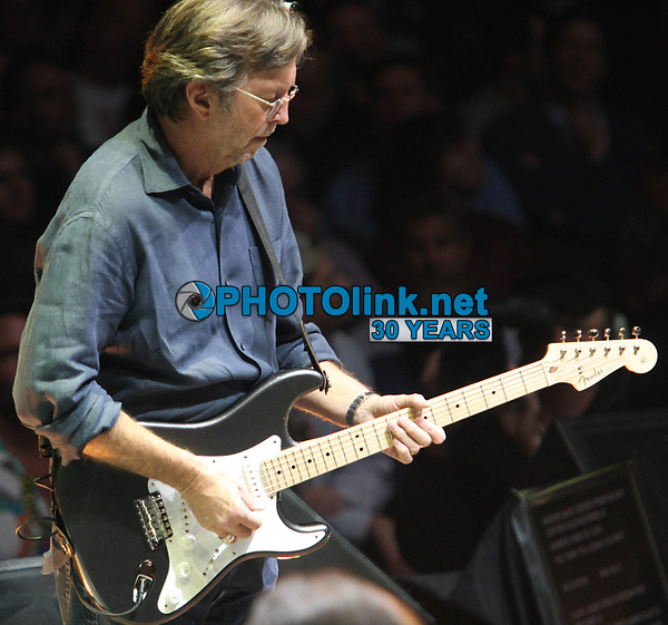 Eric Clapton, 2008, Photo By John Barrett/PHOTOlink