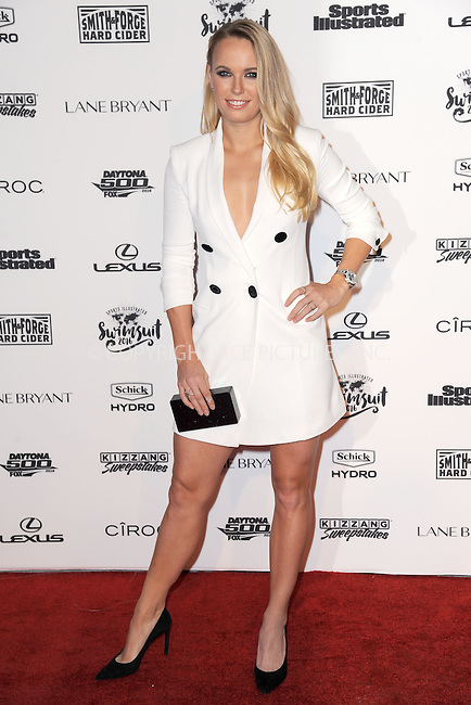 WWW.ACEPIXS.COM<br /> February 16, 2016 New York City<br /> <br /> Caroline Wozniacki attending the 2016 Sports Illustrated Swimsuit Launch Celebration at Brookfield Place on February 16, 2016 in New York City.<br /> <br /> Credit: Kristin Callahan/ACE Pictures<br /> Tel: (646) 769 0430<br /> e-mail: info@acepixs.com<br /> web: http://www.acepixs.com