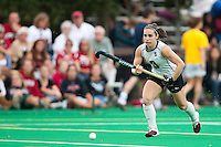 STANFORD, CA - September 19, 2010: Xanthe Travlos during the Stanford Field Hockey game against Cal in Stanford, California. Stanford lost 2-1.