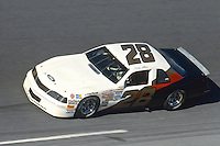 Davey Allison, #28 Harry Ranier Havoline Ford Thunderbird, practice, Daytona 500, Daytona International Speedway, Daytona Beach, Florida, February 15, 1987. (Photo by Brian Cleary/www.bcpix.com)