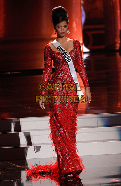 16 December 2015 - Las Vegas, Nevada -  Miss Curacao, Kanisha Sluis.  2015 Miss Universe Preliminary Competition at Axis at Planet Hollywood Resort and Casino. <br /> CAP/ADM/MJT<br /> &copy; MJT/AdMedia/Capital Pictures