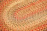 Hooked rug design.