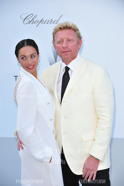 Boris Becker & Lilly Becker at the 2012 amfAR Cinema Against AIDS Gala at the Hotel du Cap, Antibes..May 24, 2012  Antibes, France.Picture: Paul Smith / Featureflash