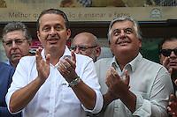 SAO PAULO, SP, 16.05.2014 - ELEICOES 2014 - EDUARDO CAMPOS - Eduardo Campos pre-candidato a presidencia da Republica pelo PSB durante visita a associação de moradores de Paraisopolis na regiao sul de São Paulo nesta sexta-feira, 16. (Foto: William Volcov / Brazil Photo Press).