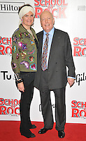 Emma Joy Kitchener and Julian Fellowes at the &quot;School of Rock: The Musical&quot; VIP opening night, New London Theatre, Drury Lanes, London, England, UK, on Monday 14 November 2016. <br /> CAP/CAN<br /> &copy;CAN/Capital Pictures /MediaPunch ***NORTH AND SOUTH AMERICAS ONLY***