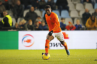 19th November 2019, Stadion De Vijverberg, Doetinchem, Netherlands; U-21 International football freindly, Netherlands versus England;  Netherlands player Javairo Dilrosun scoring the goal for 2-1