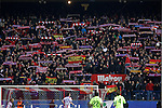 Atletico de Madrid´s supporters during Copa del Rey `Spanish King Cup´ soccer match at Vicente Calderon stadium in Madrid, Spain. January 28, 2015. (ALTERPHOTOS/Victor Blanco)