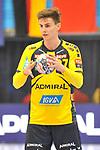 Rhein Neckar Loewe Rico Keller (Nr.97) am Ball beim Spiel in der Handball Champions League, Rhein Neckar Loewen - HBC Nantes.<br /> <br /> Foto &copy; PIX-Sportfotos *** Foto ist honorarpflichtig! *** Auf Anfrage in hoeherer Qualitaet/Aufloesung. Belegexemplar erbeten. Veroeffentlichung ausschliesslich fuer journalistisch-publizistische Zwecke. For editorial use only.