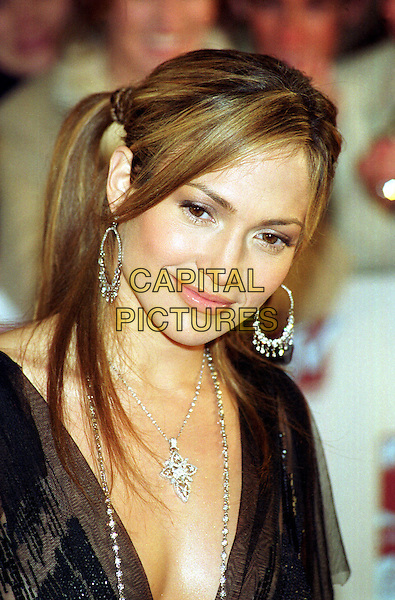 JENNIFER LOPEZ.MTV Awards.hoop earrings, ponytail, headshot, portrait, silver.www.capitalpictures.com.sales@capitalpictures.com.©Capital Pictures