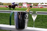 LONGCHAMP, FRANCE - October 06, 2018: Champagne at the Meeting around the Qatar Prix de l'Arc de Triomphe at Longchamp race track.