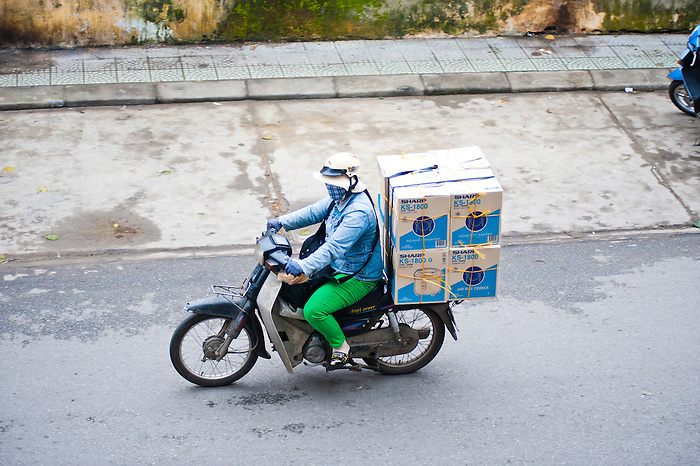 moped delivery driver in hue vietnam matthew williams ellis