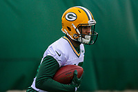 Green Bay Packers wide receiver DeAngelo Yancey (16) during an Organized Team Activity on May 23, 2017 at Clarke Hinkle Field in Green Bay, Wisconsin.  (Brad Krause/Krause Sports Photography)