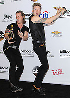 LAS VEGAS, NV, USA - MAY 18: Brian Kelley, Tyler Hubbard, Florida Georgia Lined in the press room at the Billboard Music Awards 2014 held at the MGM Grand Garden Arena on May 18, 2014 in Las Vegas, Nevada, United States. (Photo by Xavier Collin/Celebrity Monitor)