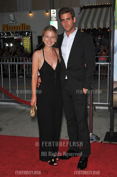"Oliver Jackson-Cohen & girlfriend Ellen Woglom at the world premiere of ""Charlie St. Cloud"" at the Mann Village Theatre, Westwood..July 20, 2010  Los Angeles, CA.Picture: Paul Smith / Featureflash"