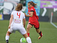 Portland, OR - Sunday Sept. 11, 2016: Tobin Heath during a regular season National Women's Soccer League (NWSL) match between the Portland Thorns FC and the Western New York Flash at Providence Park.