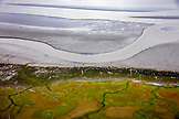 USA, Alaska, Redoubt Bay, Cook Inlet, views from inside the float plane after departing Redoubt Bay back to Anchorage
