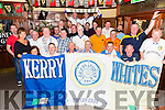 KERRY WHITES: Leeds football supporters were out in strength last Thursday night at the Castle Bar to watch their team beat Preston and also on the night, a Leeds football jersey signed by the team was presented to Leeds supporter Joe Flynn.