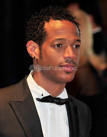 Marlon Wayans arrives at the Washington Hilton Hotel for the 2010 White House Correspondents Association Annual Dinner in Washington, D.C. on Saturday, May 1, 2010.<br /> Credit: Ron Sachs / CNP<br /> (RESTRICTION: NO New York or New Jersey Newspapers or newspapers within a 75 mile radius of New York City) /MediaPunch
