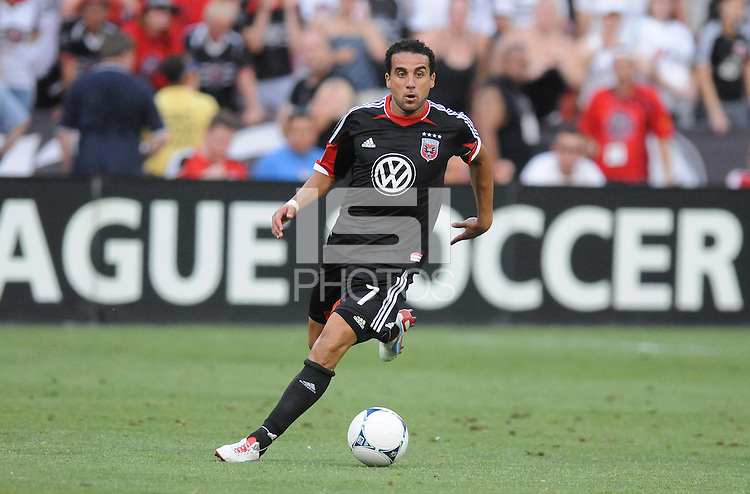 D.C. United forward Dwayne De Rosario (7) D.C. United defeated Montreal Impact 3-0 at RFK Stadium, Saturday June 30, 2012.